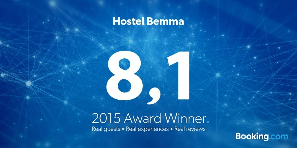 Hostel Bemma - 2015 Award Winner at Booking.com