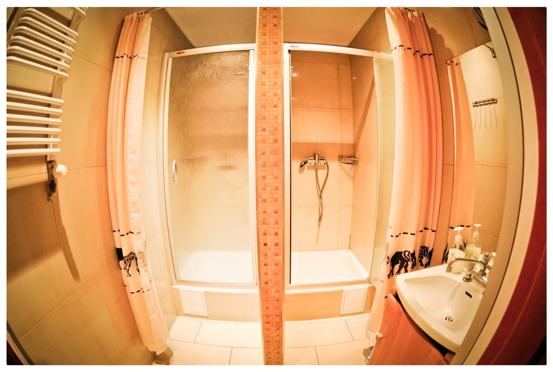 Hostel Bemma wroclaw rynek łazienka