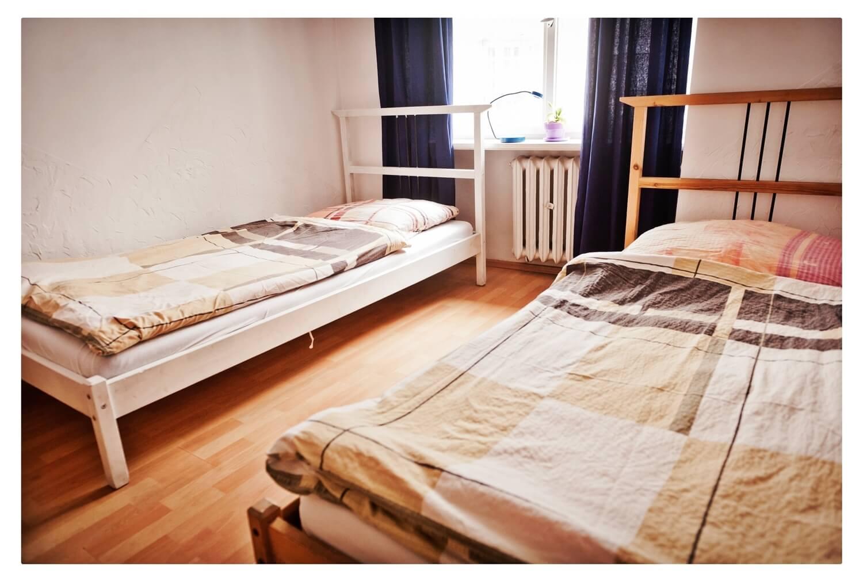 Hostel Bemma wroclaw rynek pokój twin 2-osobowy