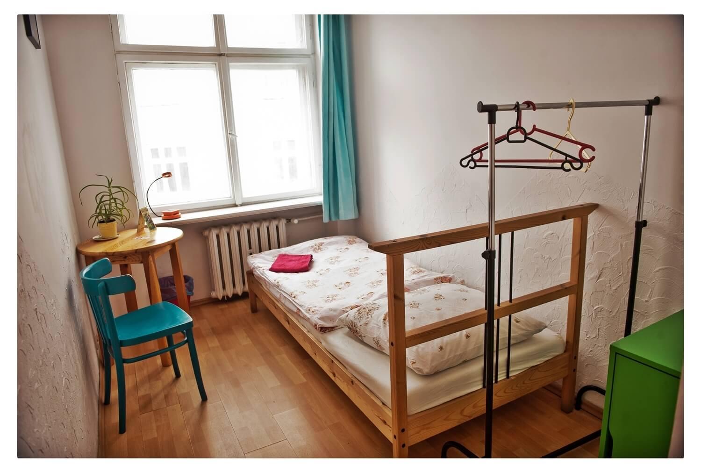 Hostel Bemma wroclaw centrum singelroom pokój 1-osobowy